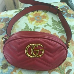 Gucci marmont fanny pack